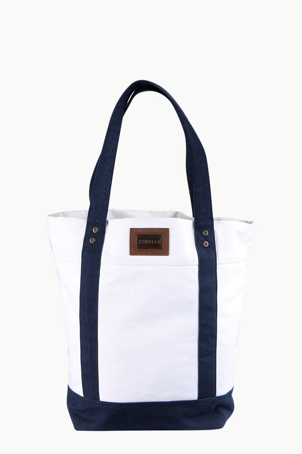 Buy Online Throw In White Canvas Tote Bag Online in India at Zobello c7402bf9f8a7f