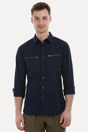 Urban Shirt with Zipper Pockets