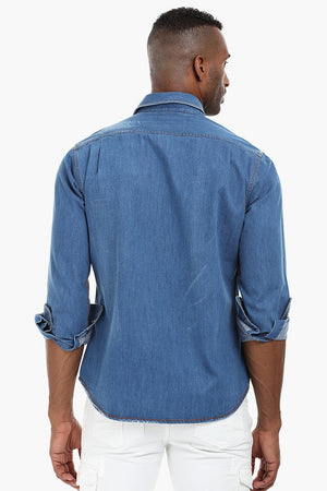 Denim Patch Shirt