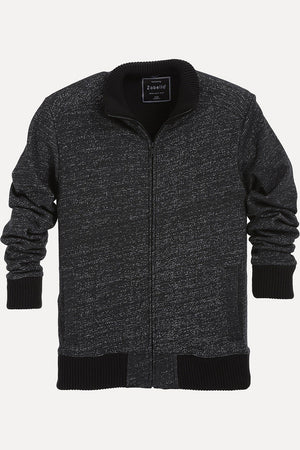Zipper Speckled Jacket