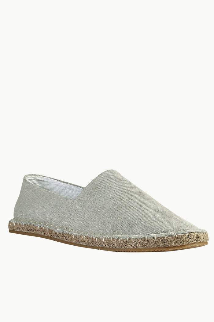 Washed Indigo Denim Espadrilles