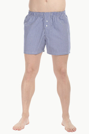 Checkered Weave Boxer Shorts