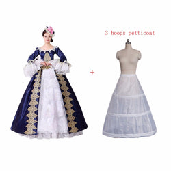 Quick View · Dark Blue Rococo Costumes Gothic Victorian Costumes Prom Gown  Theater Women Clothing ... a61262aed4b0