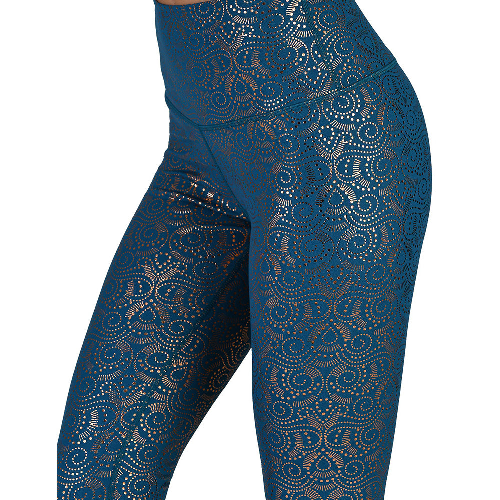 High Power Legging: Royal Moroccan Blue