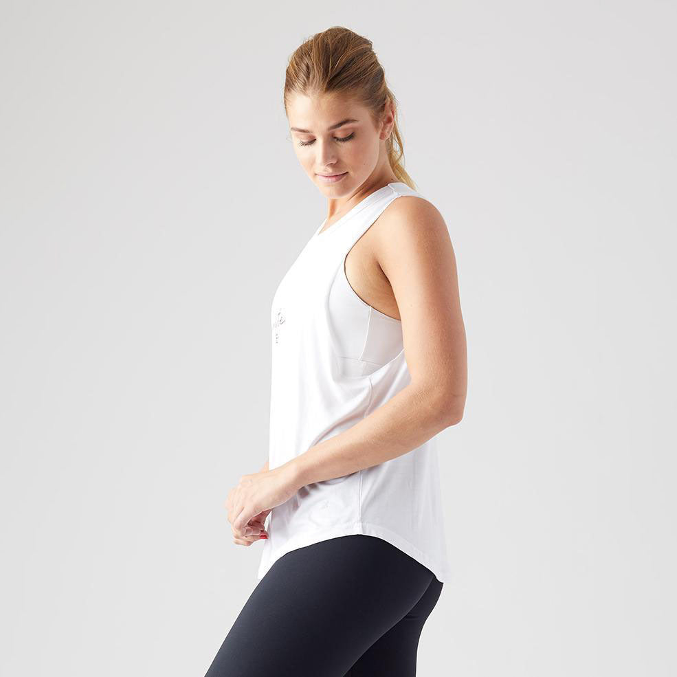 Namaste Power Tank White