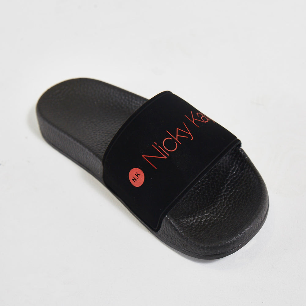 Nicky Kay Slippers Black