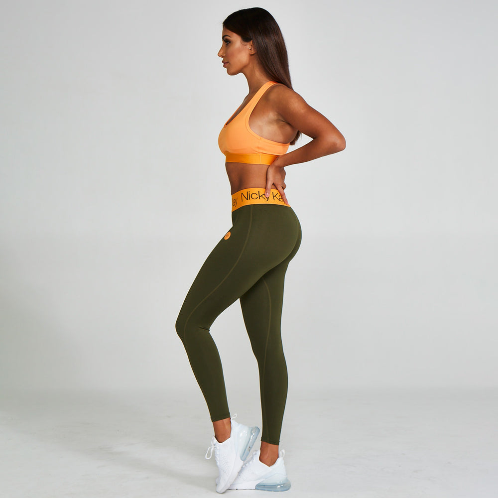 N.K Compression Tights Green