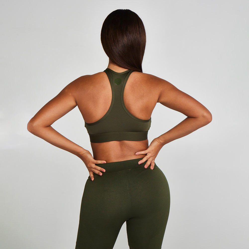 Racerback Sports BH Green