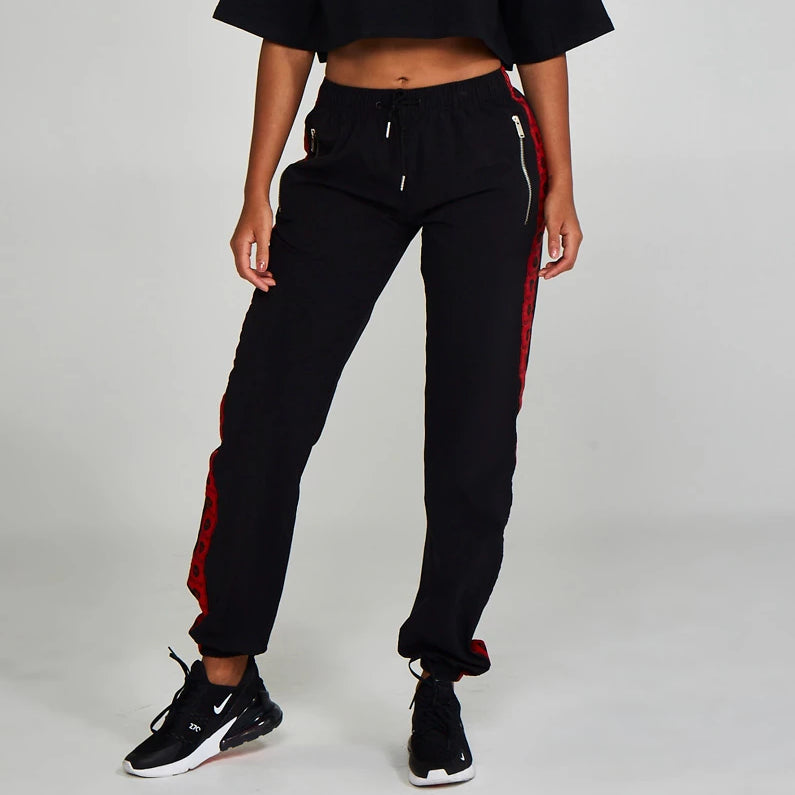 Logo Track Pants Black