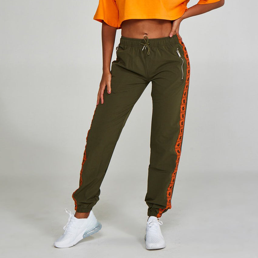 Logo Track Pants Green