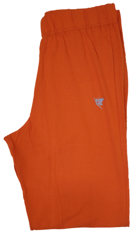 Comfort lady Kurti Pant Bright Orange