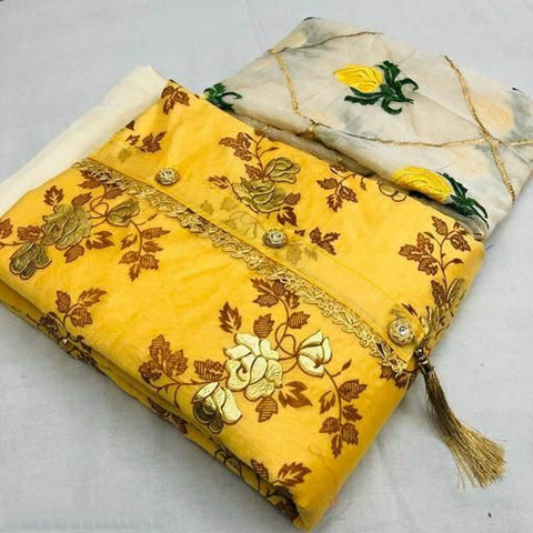 Chanderi Silk Suit & Dress Material