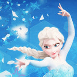 Frozen Elsa Print Top Girls