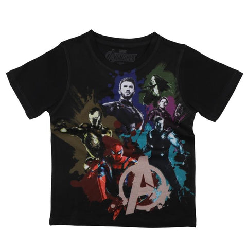 Marvel Avengers Groot & Rocket Print T-shirt Boys