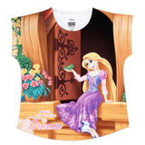 Disney Princess Rapunzel Print Top Girls
