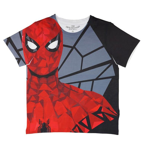 Marvel Spiderman & The Web Print T-shirt Boys
