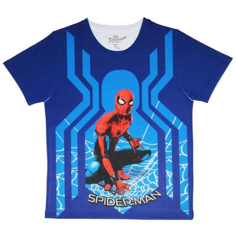 Marvel Spiderman Character T-shirt Boys