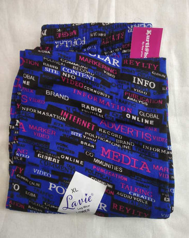 Lavie Abstract Word Printed Lower