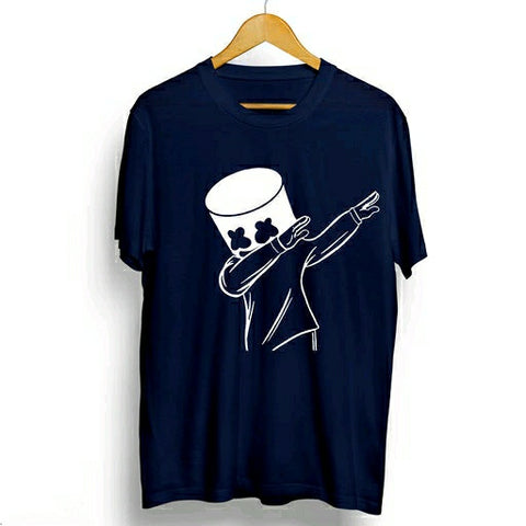 Men's Elegant Cotton Printed T-Shirts