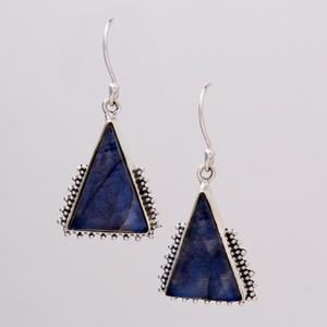 Labradorite Tribe Earrings