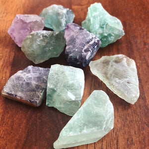 Flourite, rough