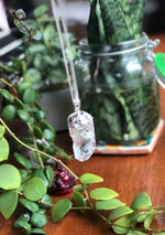 Electroplated Quartz Necklace