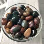 Fancy Jasper, tumbled