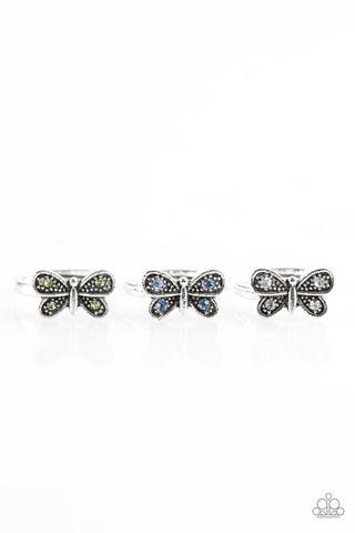 Butterfly Jewels (white)