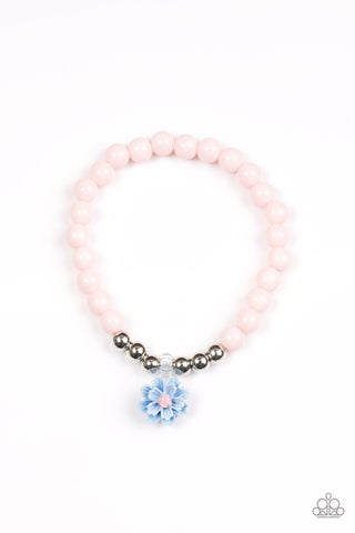 Single Flower (pastel pink and blue)