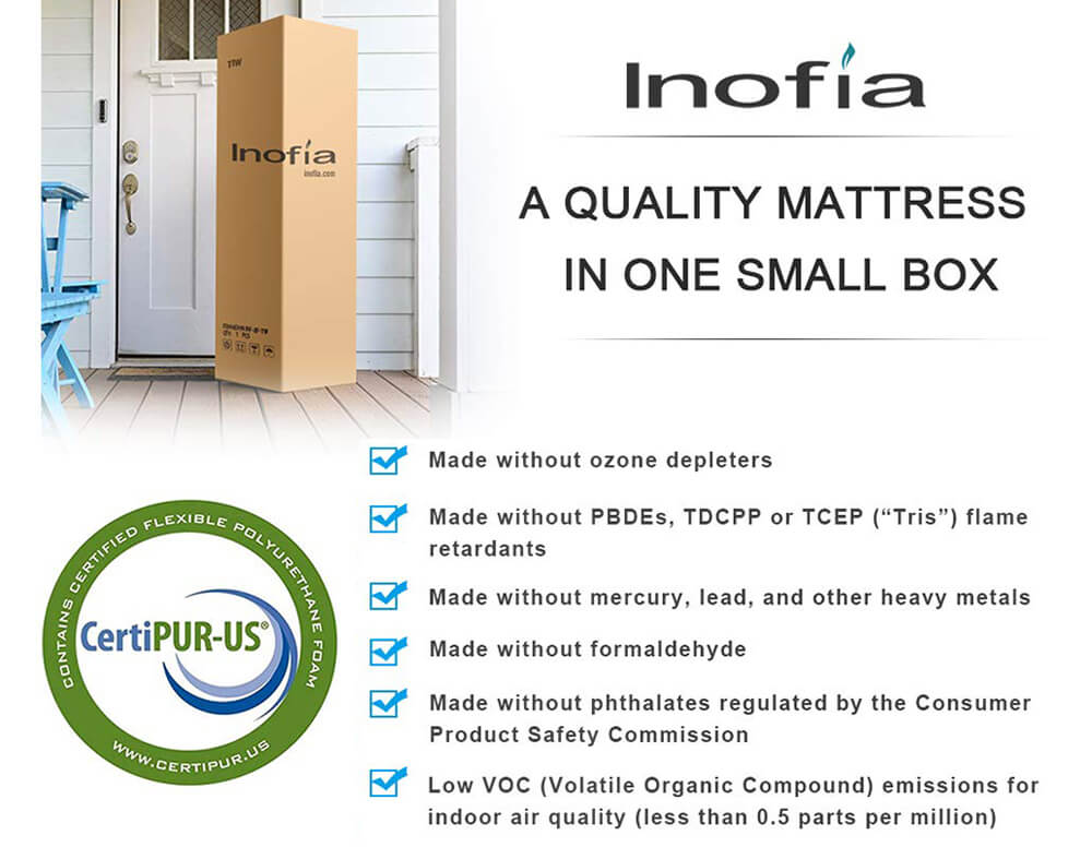 Inofia 8 Inch Mattress Queen Size