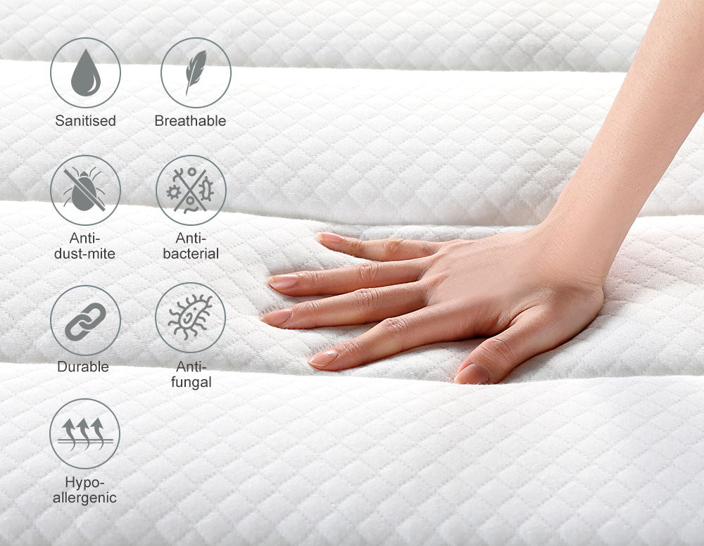 Inofia Full Mattress, 12 Inch Hybrid Innerspring Double Mattress