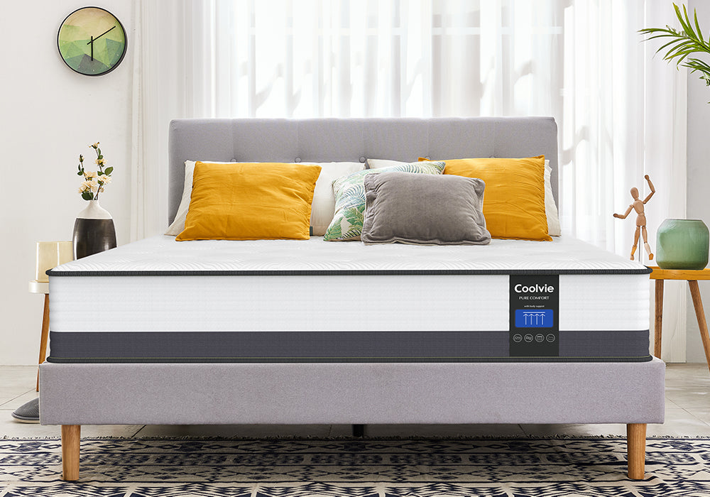 Coolvie 10 Inch Gel Memory Foam Hybrid Mattress