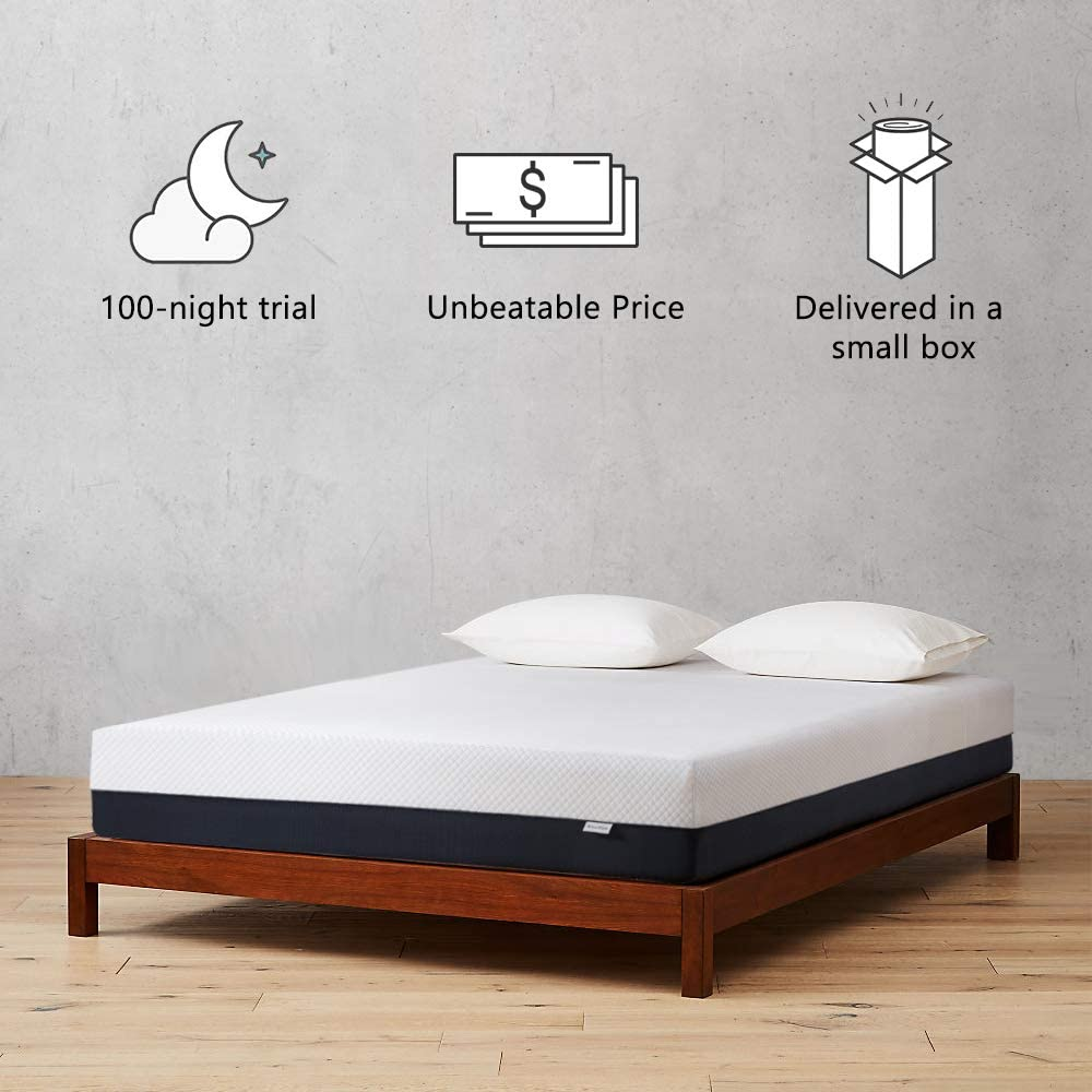 Inofia 10 Inch Twin & Queen Size Memory Foam Mattress - INOFIA US