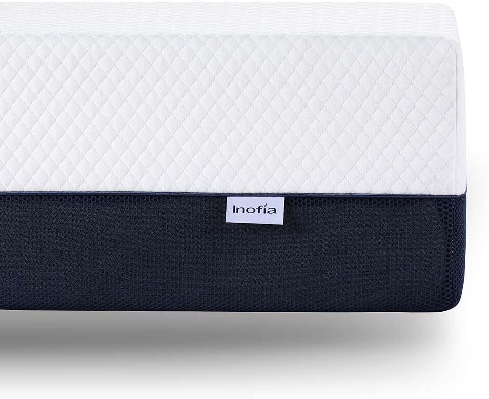 Inofia 10 Inch Twin & Queen Size Memory Foam Mattress - inofia