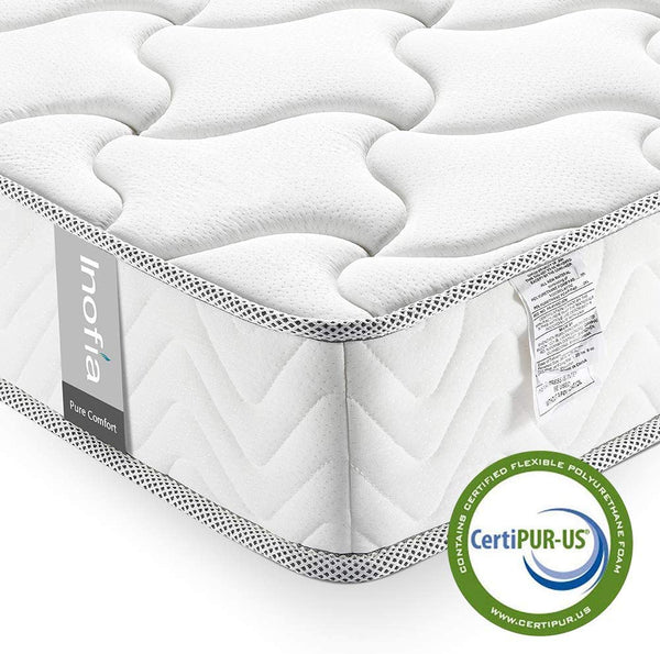 Inofia 6&8 Inch Memory Foam Mattress