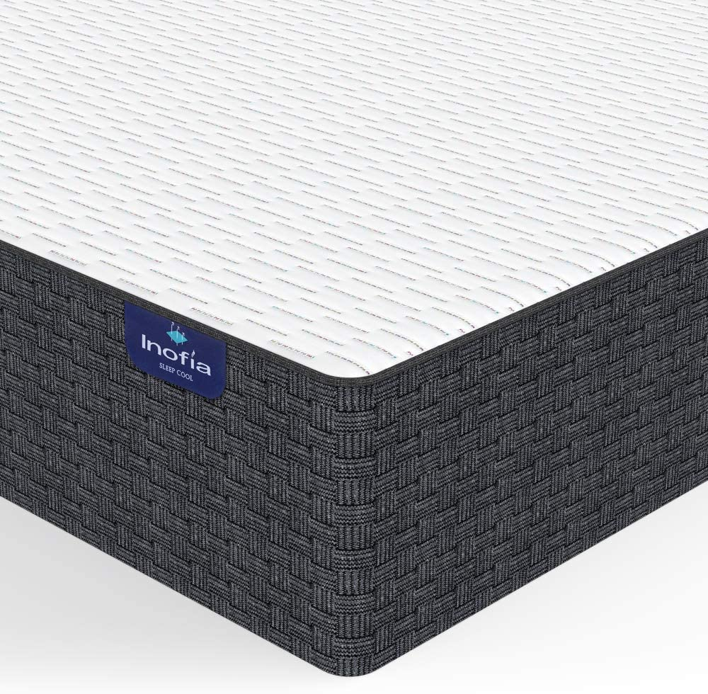 Inofia 10 Inch High Resilience Foam Mattress - inofia