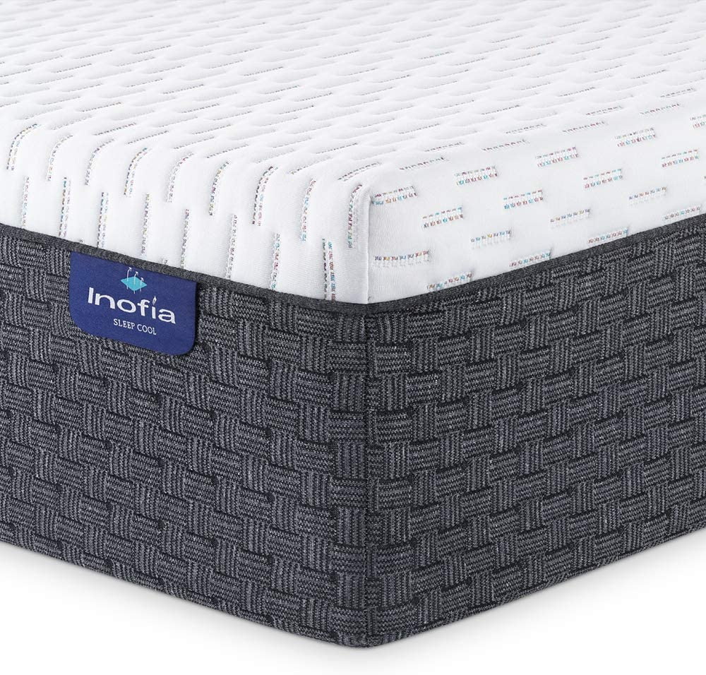 Inofia Memory Foam Mattress 12 Inch High Resilience Foam Mattress - inofia