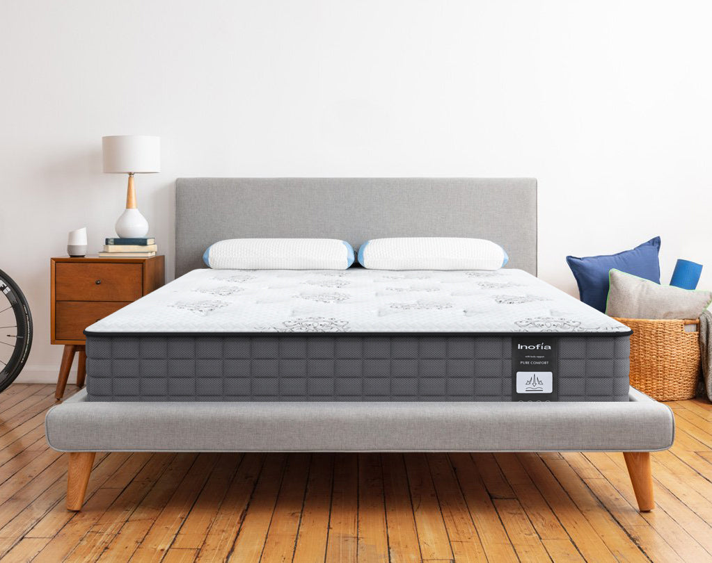 Inofia Hybrid Innerspring Individually Pocket Spring with Comfort Foam Mattress B - inofia