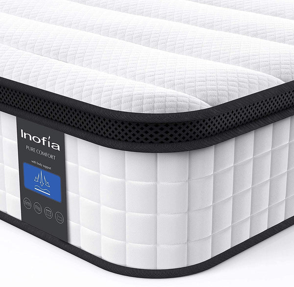 12 Inch Hybrid Innerspring Mattress Inofia Free Trial