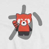 kawaiiaf officialkap kap sweatshirt cute kap kawaii red pandas close