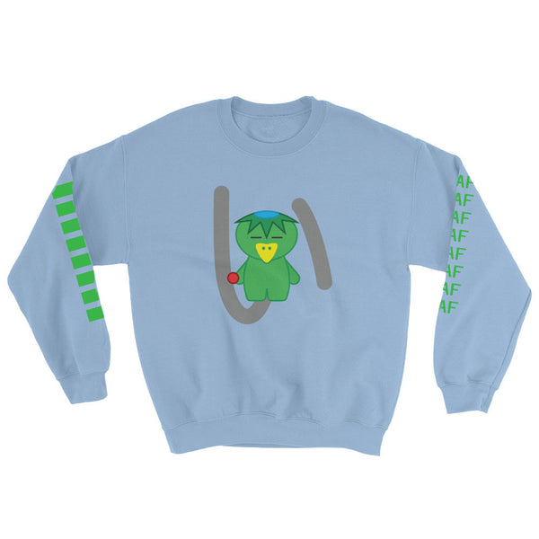 kawaiiaf officialkap kappa sweatshirt cute kap kawaii