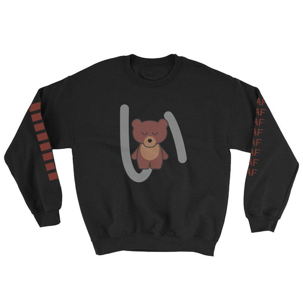 kawaiiaf officialkap kucha sweatshirt cute kap bear