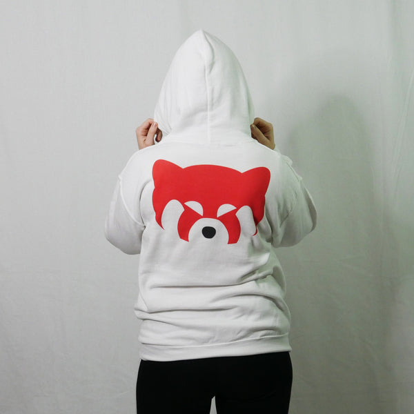 kap red panda hoodie hooded sweatshirt kawaii back