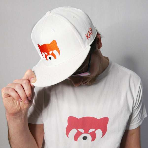 red panda official kap cap snapback hat logo