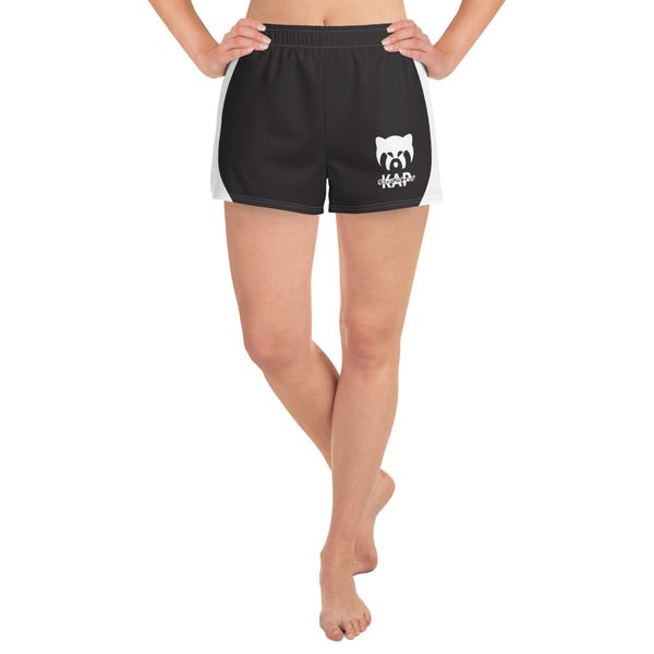 Black Women's Athletic Shorts