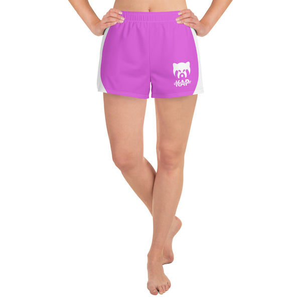Pink Women's Athletic Shorts