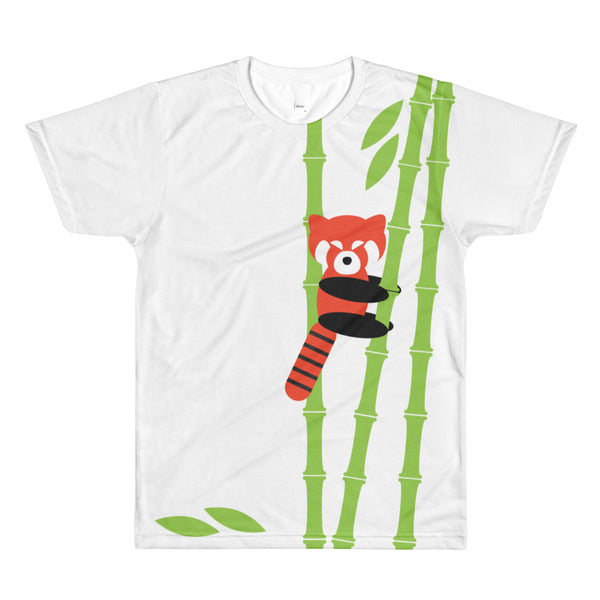 Limited run red panda bamboo shirt