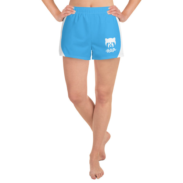 Blue Women's Athletic Shorts
