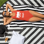 Kap Red One Piece Swimsuit