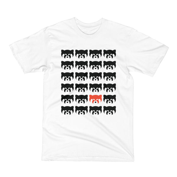 officialkap kap grid shirt red panda pandas streetwear